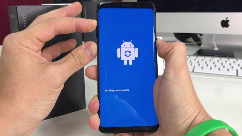 Come fare un hard reset Samsung Galaxy S9 e S9+