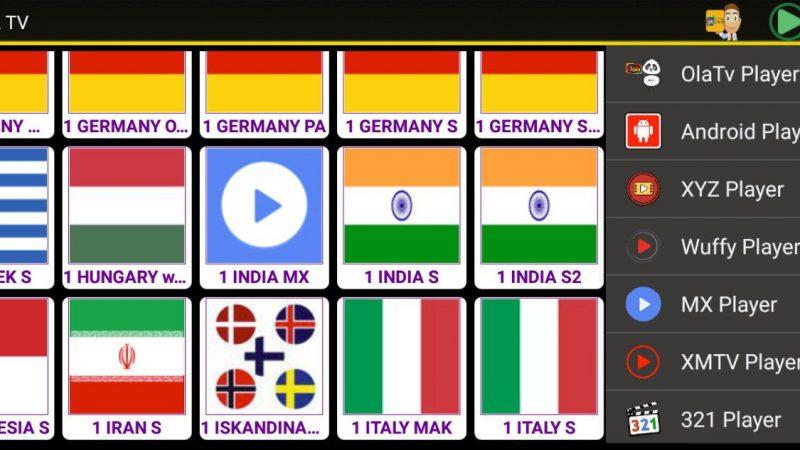 OLA TV: canali TV da tutto il mondo con Android [Apk]