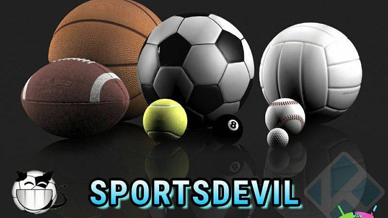 SportsDevil: sport gratis su Kodi