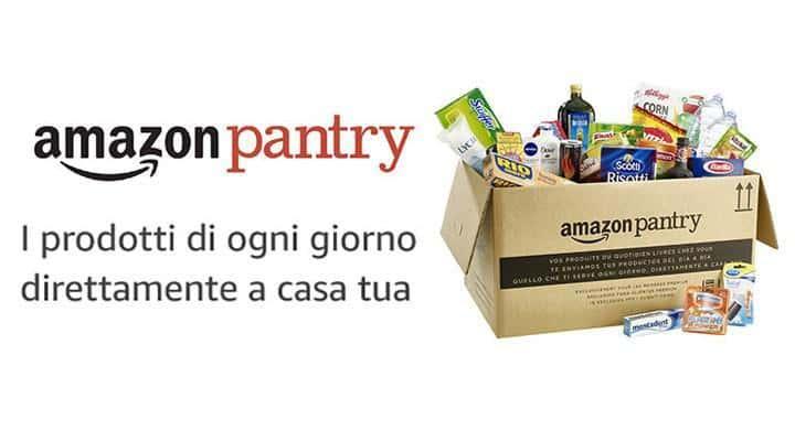 Come fare la spesa online su Amazon Pantry