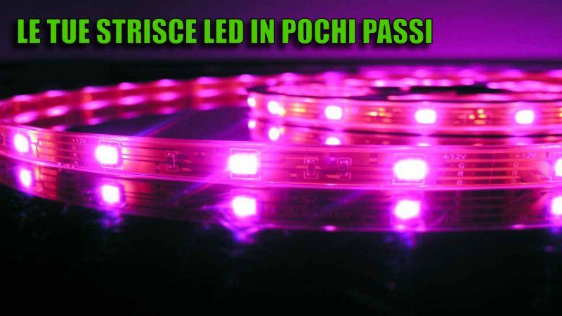 Come funzionano e si installano le strisce LED